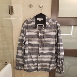 💝Old navy thicker flannel jacket mens large